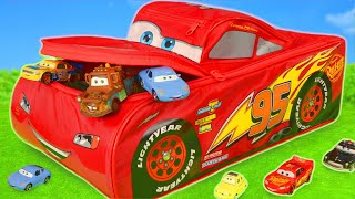 Cars Toys Surprise: Lightning McQueen, Fire Truck & Toy Vehicles Play For Kids