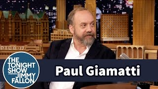 Meeting Ice Cube Turned Paul Giamatti Into a Little Girl