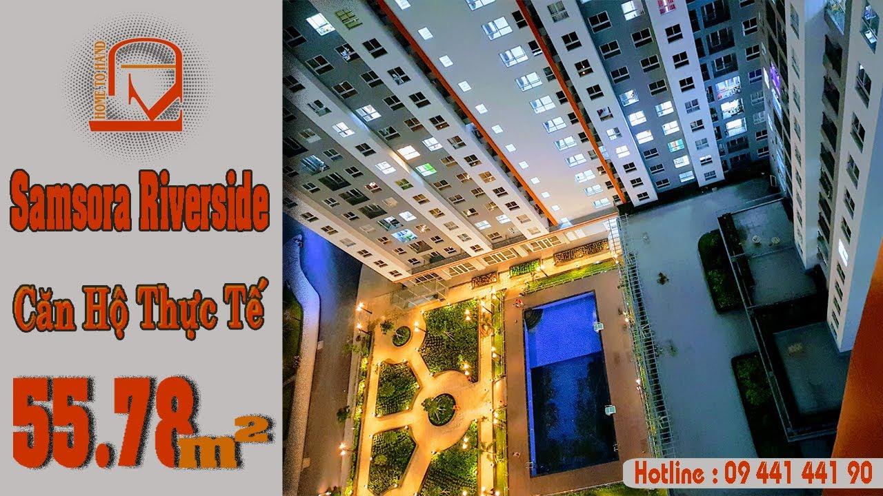 Bán căn hộ Samsora Riverside MT Xa Lộ Hà Nội, Chỉ 1.2 tỷ bao sổ - 2PN, 2WC - 56m2, LH 0835440099 video