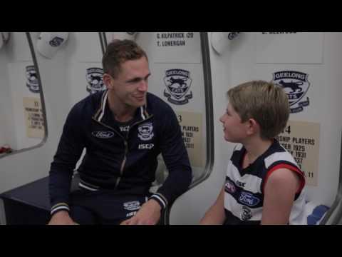NAB AFL Auskicker of the Year winner experience