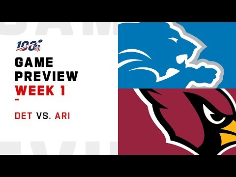 Detroit Lions vs. Arizona Cardinals | Week 1 Game Preview | Move the Sticks