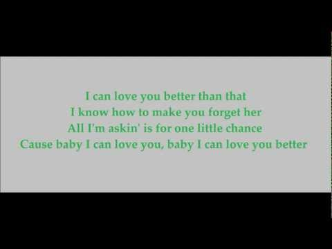 I Can Love You Better