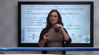Banka Sınavları - Genel Ekonomi - Tüketim ve Tasarruf Fonksiyonu