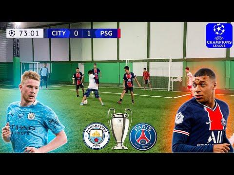 PSG vs MANCHESTER CITY UEFA CHAMPIONS LEAGUE SEMIFINAL DESAFIOS DE FUTEBOL ‹ Rikinho ›