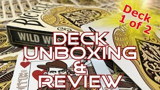 Wild West Playing Cards - Lawmen Deck - Unboxing & Review - Ep28 - Inside the Casino