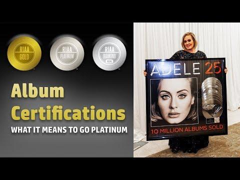 Album Certifications - Going Platinum