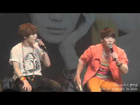 [Eng Sub] SHINee ~Buing Buing Aegyo @ Sherlock Mini Fanmeet 120419