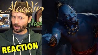 Disney's Aladdin - A Special Look REACTION