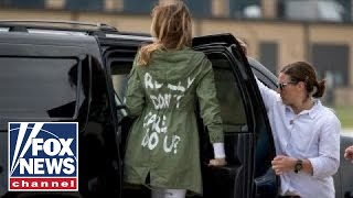 Media's Melania jacket frenzy