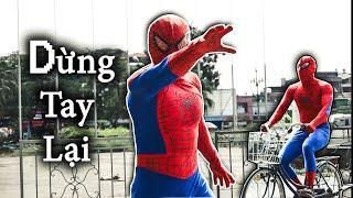 NGƯỜI NHỆN Parkour Giải Cứu Con Tin | SPIDERMAN REAL LIFE PARKOUR