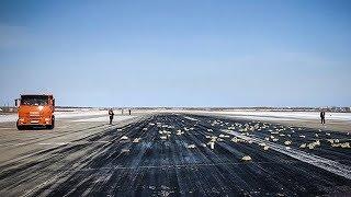Máy bay Nga làm rơi 3,4 tấn vàng khi cất cánh