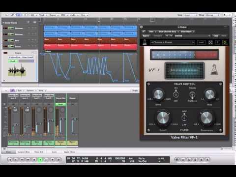 AudioThing Valve Filter VF-1 (Funky demo)