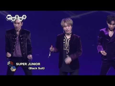【直擊】SUPER JUNIOR (슈퍼주니어)飆唱〈Black Suit〉性感再升級! 20181008 我愛偶像 Idols of Asia