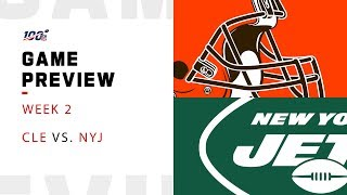 Cleveland Browns vs. New York Jets Week 2 Game Preview (Updated with Darnold News)