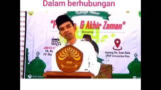 3 penyakit suami dalam berhubungan suami istri.ceramah Ustadz Abdul Somad Lc Ma.