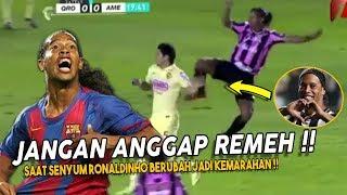 Ronaldinho Si RAJA SENYUM ⚠️ Tapi Lihat ‼️Saat Ronaldinho Sangat Marah & Emosi