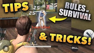 Rules of Survival BEST Tips and Tricks!!