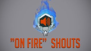 """""""On Fire"""" Voice Lines [Overwatch]"""