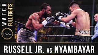 Russell Jr vs Nyambayar FULL FIGHT: February 8, 2020   PBC on SHOWTIME