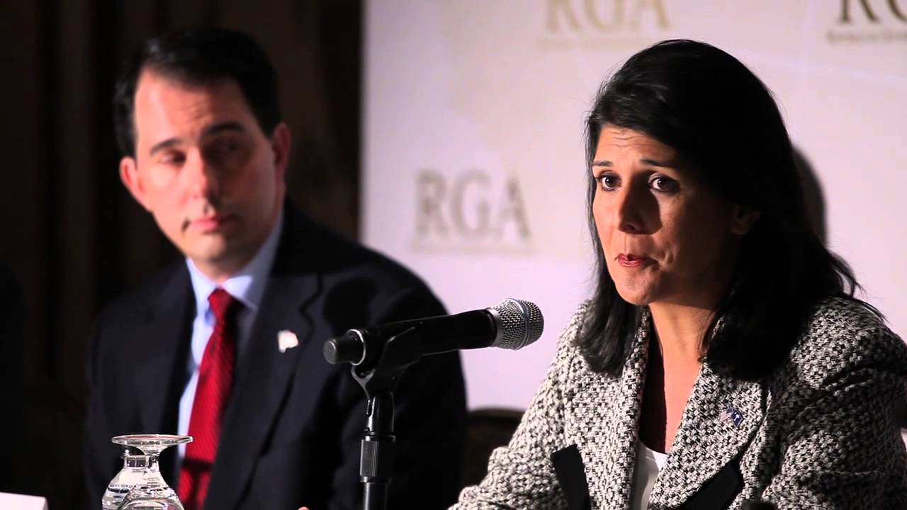 Gov. Nikki Haley at RGA Press Conference: GOP Governors Are Fighting For The American Dream