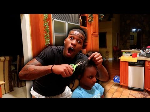 I CUT MY DAUGHTER'S HAIR PRANK
