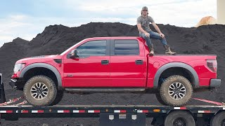 I won a Ford Raptor. And I'm turning it into a plane.