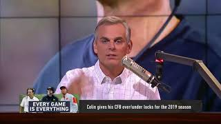 SD Clips: Colin Cowherd Give His Locks For The 2019 College Football Season