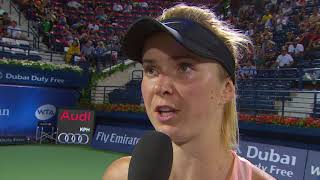 On-Court Interview: WTA Final - Elina Svitolina