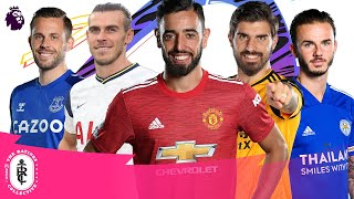 Best FREE-KICK takers in FIFA 21   Premier League   Fernandes, Bale, Maddison, Neves & more!   AD