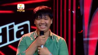 The Voice Cambodia She Will Be Love - 3 Aug 2014