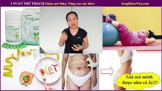 3 tuần THỬ THÁCH Giảm mỡ thừa, Nâng cao sức khỏe - Tuần 1.1