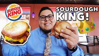 Does Burger King's New Sourdough King sandwich deserve the crown? - Full Nelson Eats A Lot