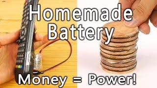 Comment transformer vos pièces de monnaie en pile ?
