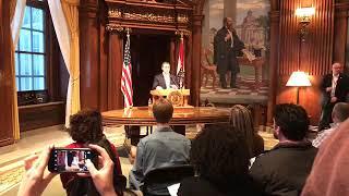 Gov. Greitens reveals budget plans