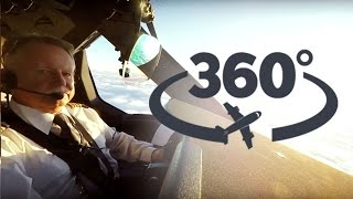 LOT Dreamlinera 360° widok z kokpitu! ✈ OPERACJA: LOT | 360° cockpit view take off