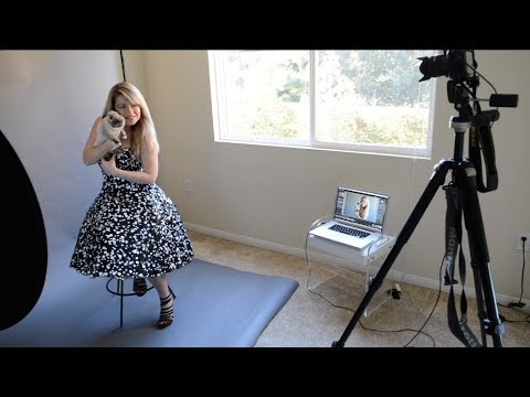 Lesson 29 - Taking a Self-Portrait and Tethering with Lightroom (Photography Tutorials)