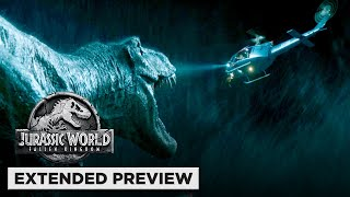 Jurassic World: Fallen Kingdom | T. Rex vs. Helicopter vs. Mosasaurus