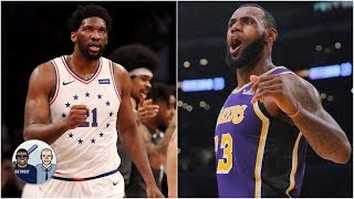 76ers, Lakers among 4 teams who have a shot to win title - Nick Friedell | Jalen & Jacoby