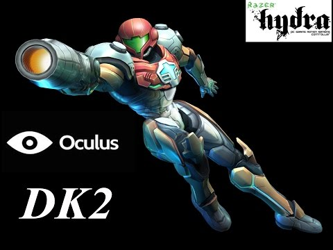 DOLPHIN VR EMULATOR METROID PRIME CORRUPTION WITH OCULUS RIFT DK2 AND THE RAZER HYDRA