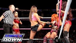 Natalya, Charlotte & Becky Lynch vs. Team Bella: SmackDown, Oct. 8, 2015