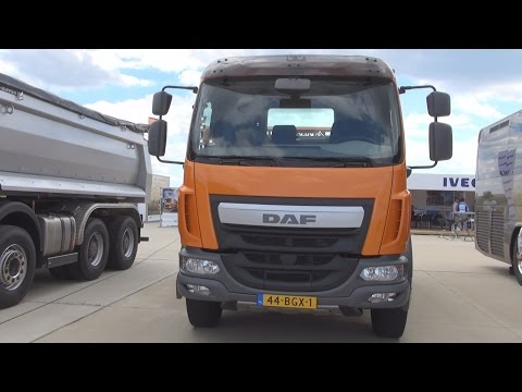 DAF LF 250 Euro 6 Tipper Truck (2016) Exterior and Interior in 3D
