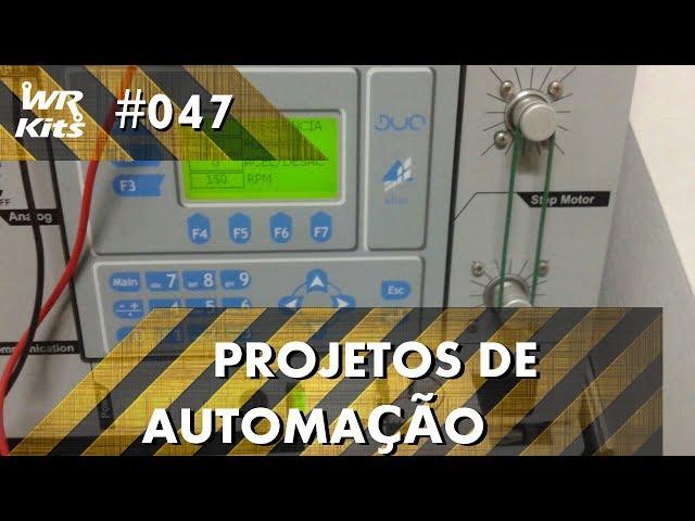 CHAVE DE FIM DE CURSO COM FOTOTRANSISTOR NO CLP ALTUS DUO | Projetos de Automação #047