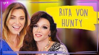 Rita Von Hunty MARAVILHOSA solta o verbo com Júlia Rabello