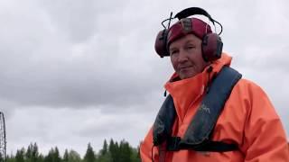 Ammattina kalastus Pohjois-Lapissa: Vannerysä ja katiska - Commercial fishery in Northern Lapland