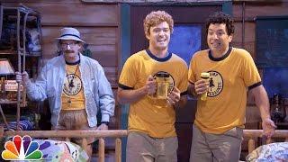 """Young Jimmy Fallon & Justin Timberlake Sing """"Ironic"""" at Camp Winnipesaukee"""