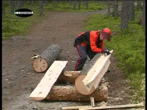 Chainsaw Mill With Stihl And Logosol Youtube