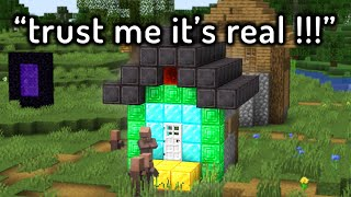 Hilariously FAKE Minecraft Speedruns...