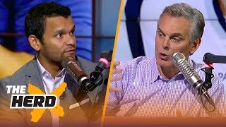 Colin Cowherd and Jason McIntyre discuss their Super Bowl LIII favorites | NFL | THE HERD