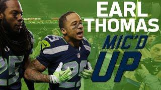 Earl Thomas' Best Mic'd Up Moments   Sound FX   NFL Films