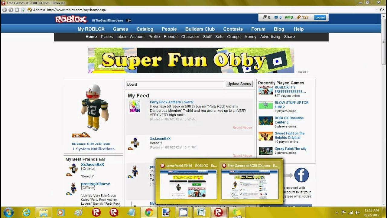 ROBLOX how to get 1,000,000 robux and tix - YouTube